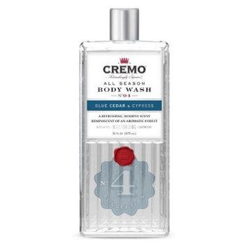 Cremo Blue Cedar and Cyprus Body Wash - 16oz