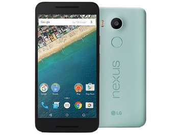 Google Nexus 5X 4G 32GB Unlocked Mobile - Ice Blue