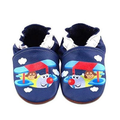 HEBA-Germany Lauflernschuhe Printed Baby Shoes Size 23