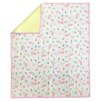 Aloha Crib Quilt Coverlet by Oliver Gal