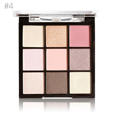 Misaky 9 Colors Classy Intensity Matt Powder Smoky Eyeshadow Pigmented Eyeshadow Highlighter Pigment Palette