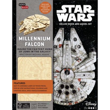 IncrediBuilds: Star Wars: Millennium Falcon Deluxe Book and Model Set