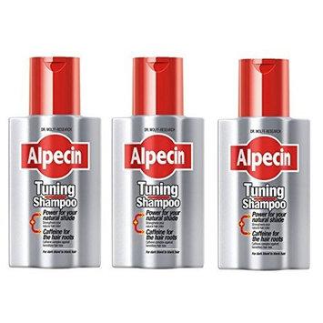 Alpecin Tuning Shampoo 200ml - (Pack of 3) by HealthLand
