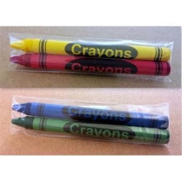 DollarDays 1946443 Premium Restaurant Crayons Pack of 1000 - 2 per Pack