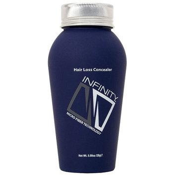 Infinity Hair Building Fibers for Thinning Hair - Hair Loss Concealer, Black, 30g