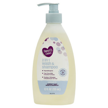 Parent's Choice 2 in 1 Baby Wash & Shampoo, 12 fl oz