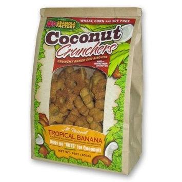 K9 Granola Factory Coconut Crunchers Dog Treat [Coconut/Tropical Banana]