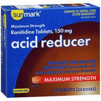 Sunmark Acid Reducer 150 mg Tablets - 24 ct