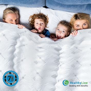 Healthyline Magnetic Therapy Comforter Down Alternative Duvet Insert Far Infrared Natural Activated by 100% Premium Tourmaline Filled Cotton Magnets Improve Blood Circulation and Flushing Out Body Toxins