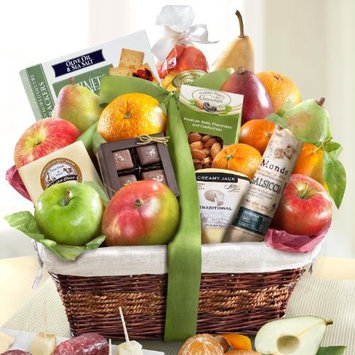 Abundance Gourmet Fruit Basket Gift [All Occasion]