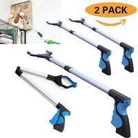Procellatech 2 Pack - Reacher Grabber Pick up Tool, 32
