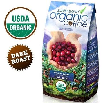Subtle Earth Organic Dark Roast Whole Bean Coffee 2LB