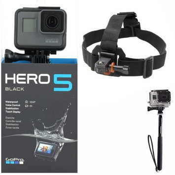 Teds GoPro HERO5 Black 12 MP Waterproof 4K Camera Camcorder with Top Accessory Bundle