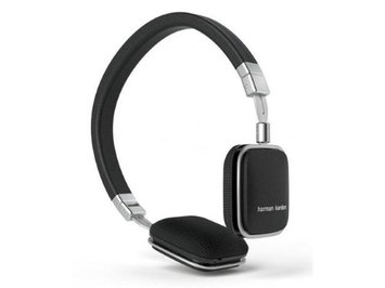 Harman/kardon Harman Kardon Soho-I On-Ear Headphones with In-line Apple Compatible Mic and Controls (White)