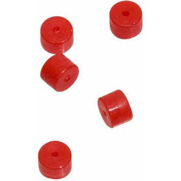 October Mountain 45416 5-Pack Turbo Button 2.0, Red
