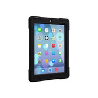 The Joy Factory aXtion Bold Water-Resistant Rugged Shockproof Case for iPad 2/3/4, Built-In Screen Protector Red/Black (CWA103)