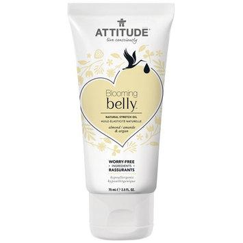 ATTITUDE, Blooming Belly, Natural Stretch Oil, Almond & Argan , 2.5 fl oz (75 ml)