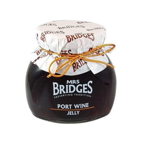 Mrs Bridges Port Wine Jelly, 7 Ounce