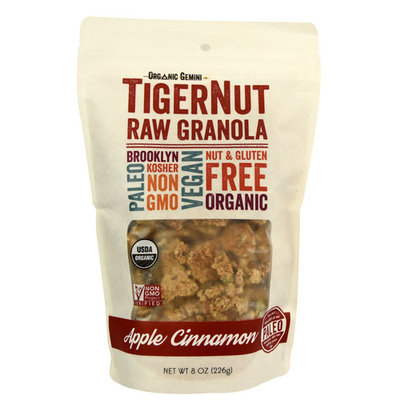 Organic Gemini TigerNut Granola Apple Cinnamon -- 8 oz