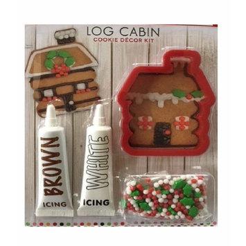Festival Log Cabin Cookie Decor Kit