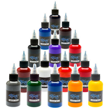 Synergy Tattoo Ink - 14 Color Set - 1/2 oz