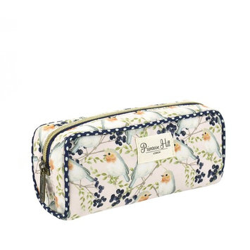 Primrose Hill Roses and Robins Collection Cosmetic Pencil Case