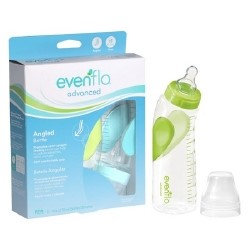 Evenflo Advanced + Angled & Vented Bottles