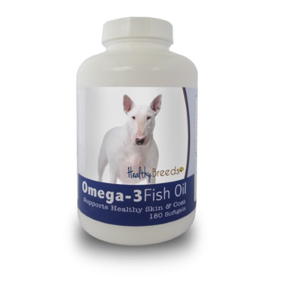 Healthy Breeds 840235141167 Bull Terrier Omega-3 Fish Oil Softgels 180 Count