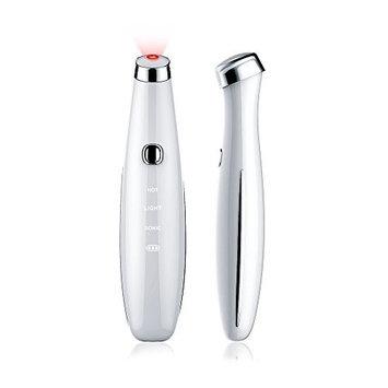 TOUCHBeauty Sonic & Heated Eye Treatment Pen Red Light Sonic Eye Massage Pen Heated Eye Massager (TB-1662)