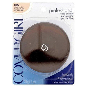 Cover Girl 00961 105tranfr Translucent Fair ProfessionalTM Loose Powder by COVERGIRL
