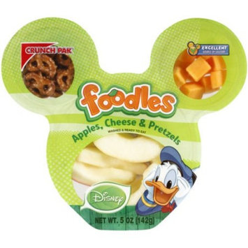 Crunch Pak Foodles Disney Apples, Cheese & Pretzels, 5 oz