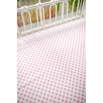 Polka Dot Crib Sheet by My Baby Sam Coral