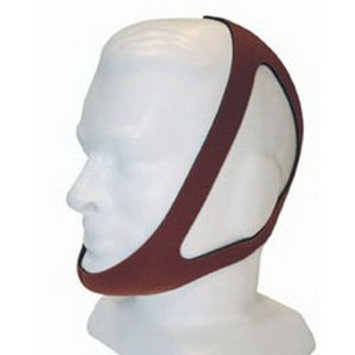 CareFusion Ruby Chin Strap, Red - Small