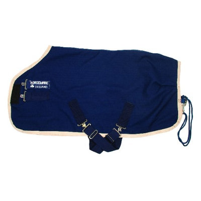 Horseware Mio Stable Sheet 84 Navy/Red