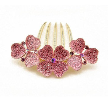 Elegant rhinestones hair jewelry, hair comb for women YD1974