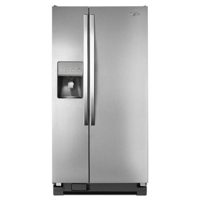 Whirlpool WRS322FDAM: 22 cu. ft. Side-by-Side Refrigerator with LED Lighting