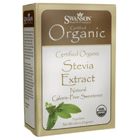 Swanson Stevia Extract - Certified Organic Calor 75 Pkts