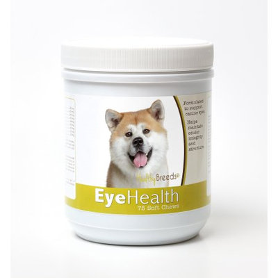 Healthy Breeds 840235145097 Akita Eye Health Soft Chews - 75 Count