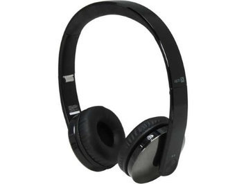 Lg - Gruve Bluetooth Stereo Headset - Black