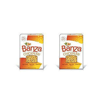 Banza Chickpea Pasta, Penne, 8 Ounces (Pack of 2)
