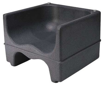 Cambro Dual Booster Seat (Black) [PK/4]. Model: CA200BC110