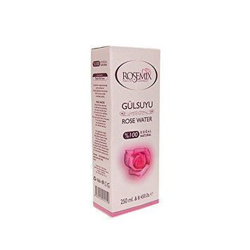 Rosemix Natural Rosewater frish Face and for Make up Removing 250 ml 10 Fl.oz