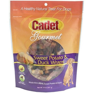 IMS 01308 Cadet Sweet Potato and Duck Wraps Dog Treat - 14 oz.