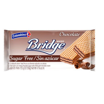 Colombina BRIDGE Sugar Free Chocolate