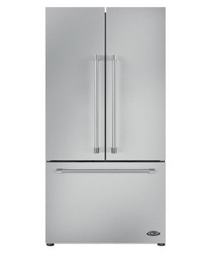 Dcs RF201ACJSX1 ActiveSmart Refrigerator 36 width French Door Built-In with Ice Maker 70 15/32