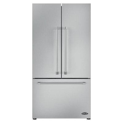 Dcs RF201ACJSX1 ActiveSmart Refrigerator 36 width French Door Built-In with Ice Maker 70 15/32
