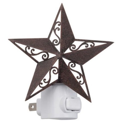 WalterDrake Barn Star Nightlight