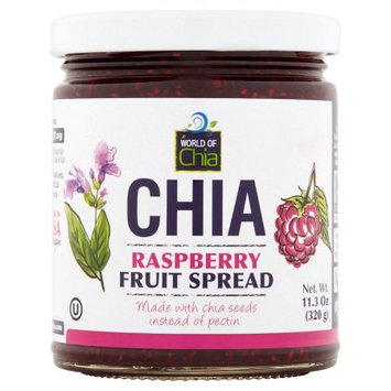 Space Enterprises Llc World Of Chia, Spread Chia Raspberry, 11.3 Oz (Pack Of 6)
