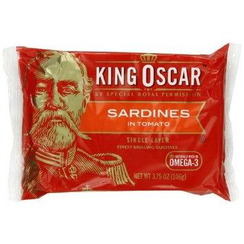 King Oscar Wild Caught Sardines Zesty Tomato, 3.75-Ounce