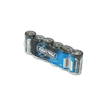 Rayovac ALC - Industrial PLUS Alkaline Batteries, C, 6/Pack-RAYALC